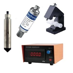 圧力センサ、流量センサ、水位計